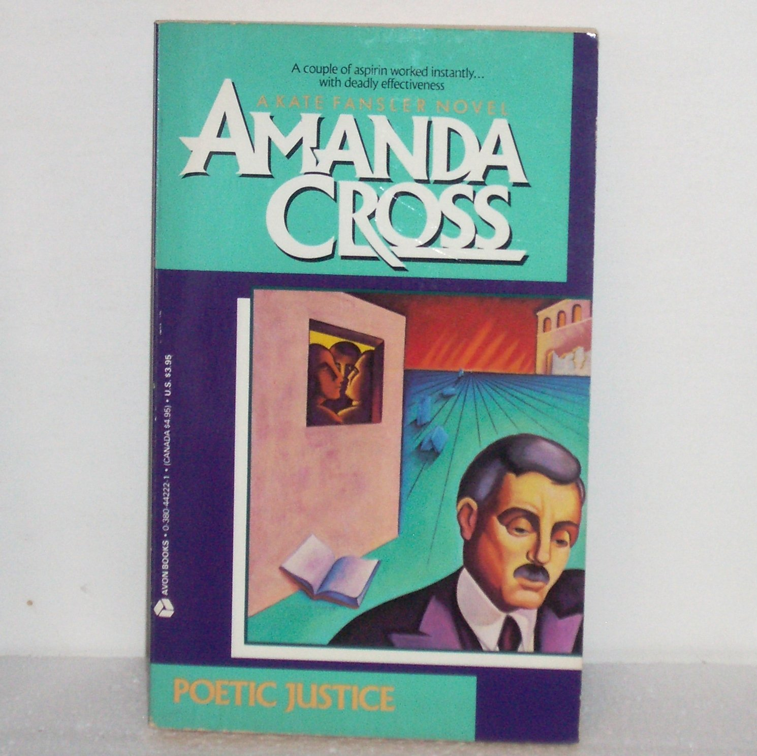 Poetic Justice by Amanda Cross 1991 A Kate Fansler Cozy Mystery