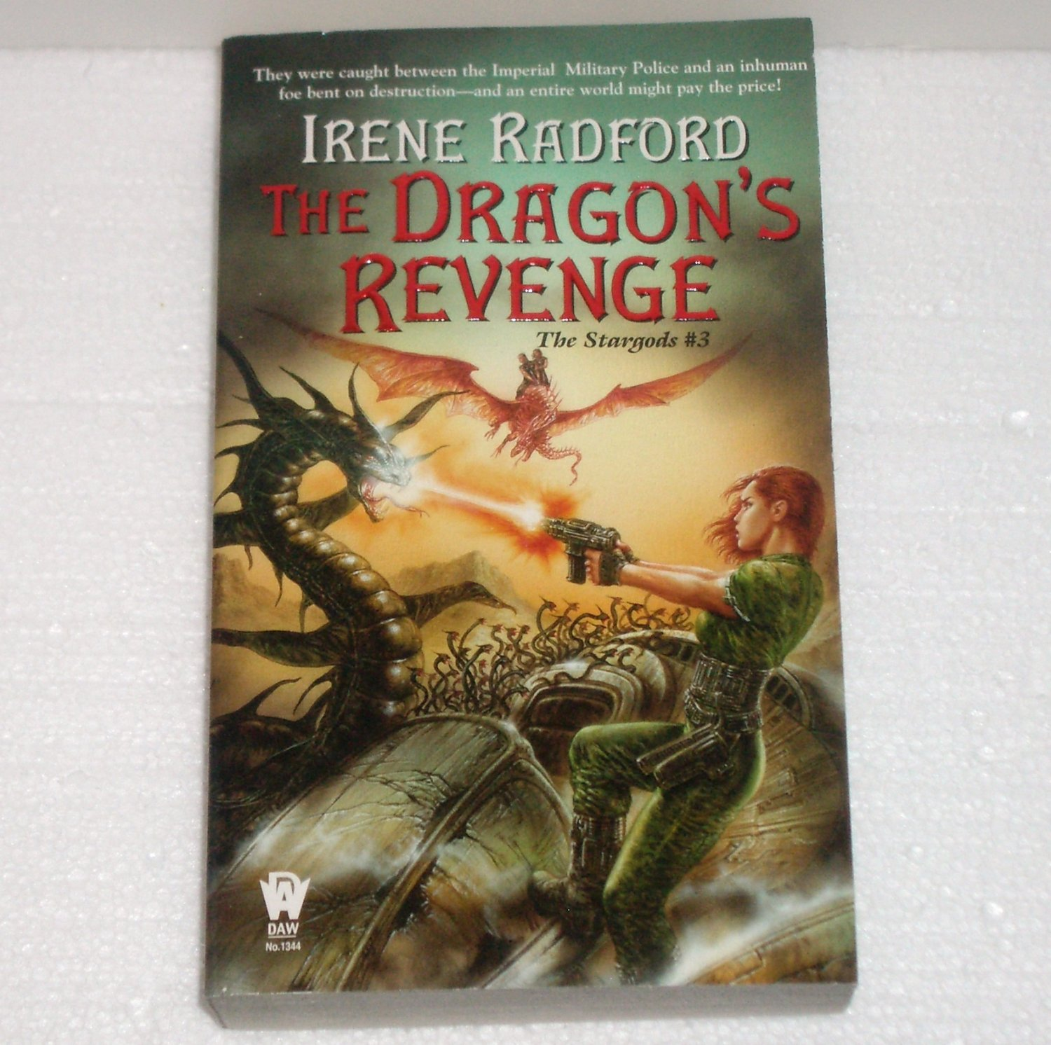 The Dragon's Revenge IRENE RADFORD Stargods #3 Fantasy 2005