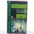 Assignment in Eternity by Robert A. Heinlein Science Fiction 1953 Signet D2587