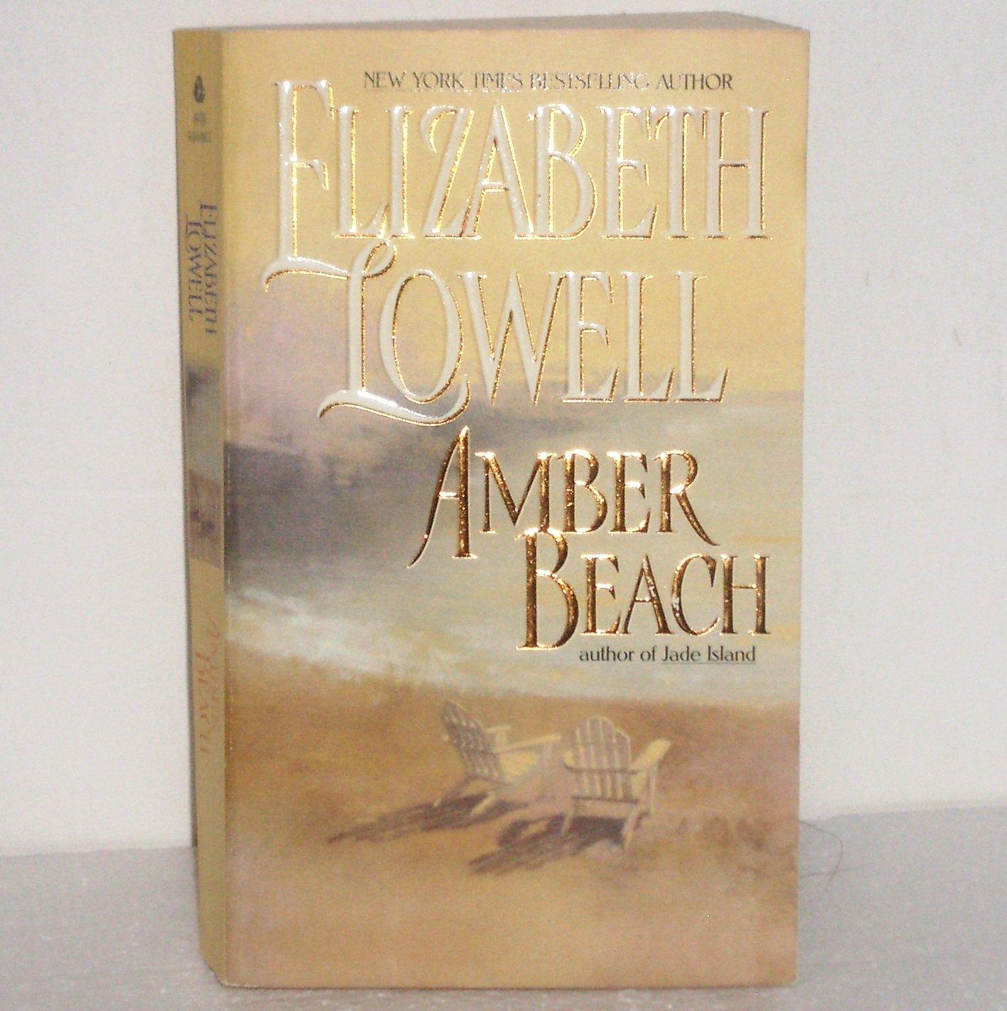 Amber Beach by Elizabeth Lowell Romantic Suspense 1998 Donovan Series