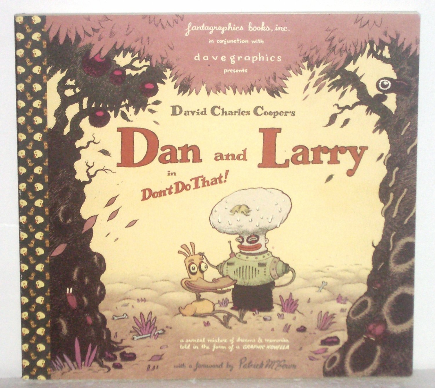 Dan and Larry in Don't Do That! by DAVID CHARLES COOPER Graphic Novel 2001