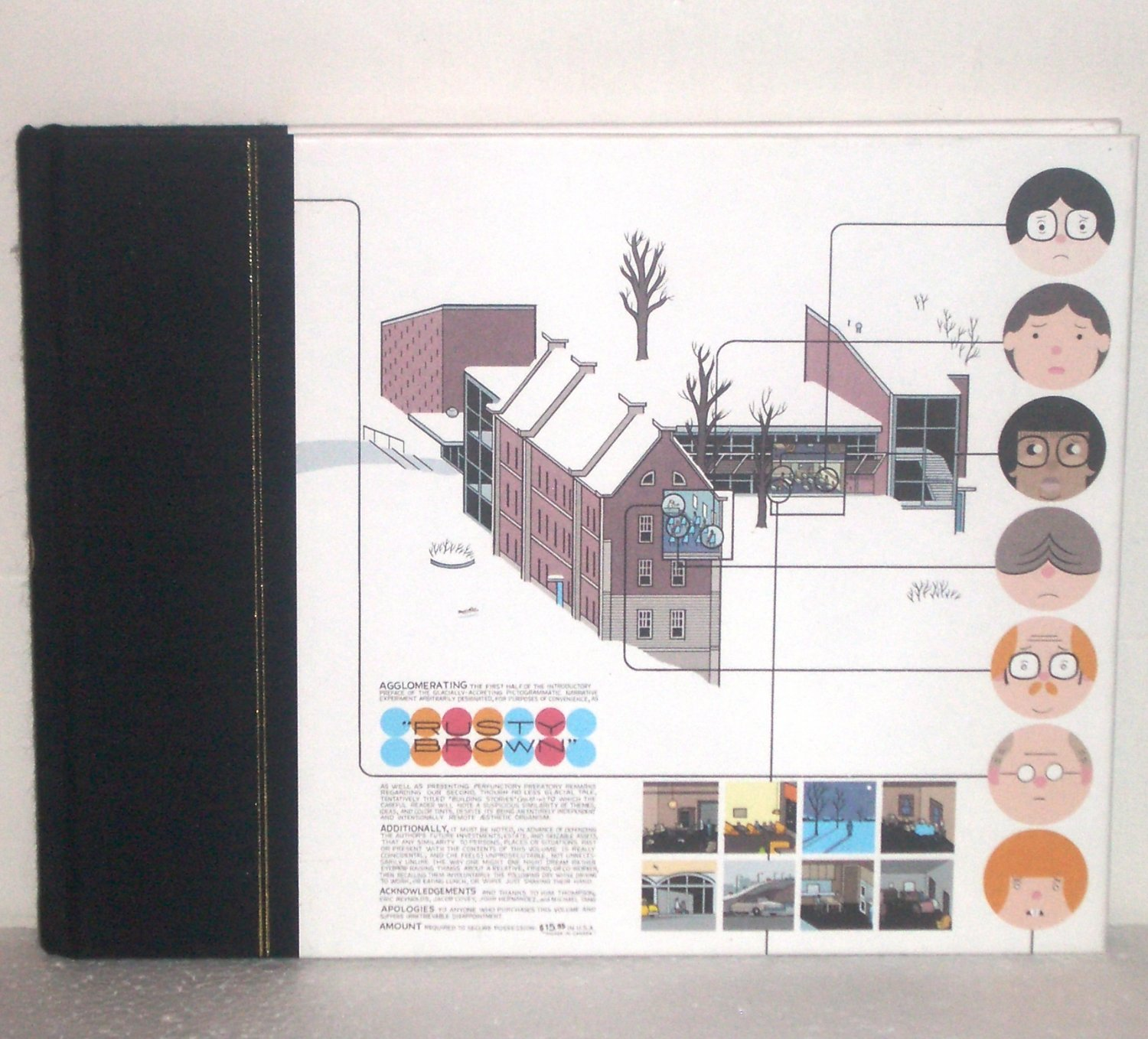 The ACME Novelty Library #16 by CHRIS WARE 2005 Hardcover Graphic Novel