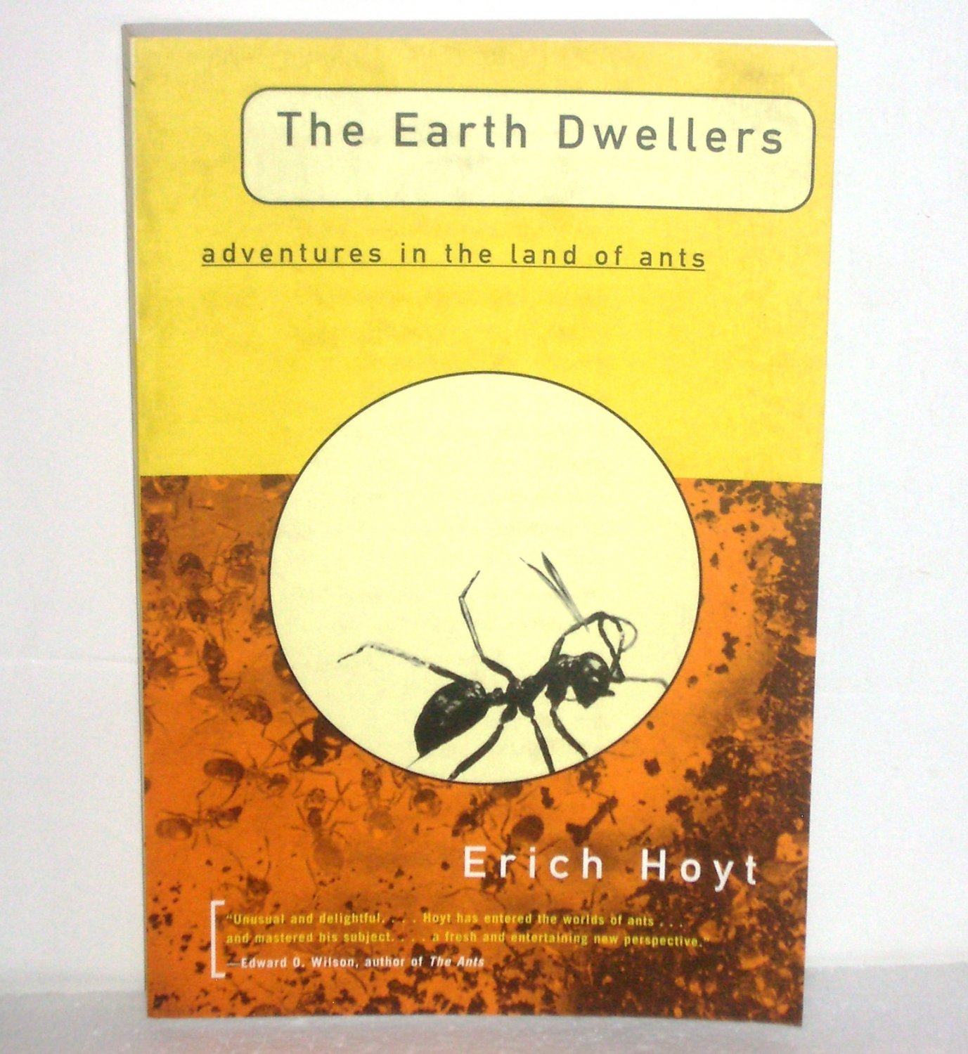 Earth Dwellers Adventures in the Land of Ants by Erich Hoyt Trade Size 1997