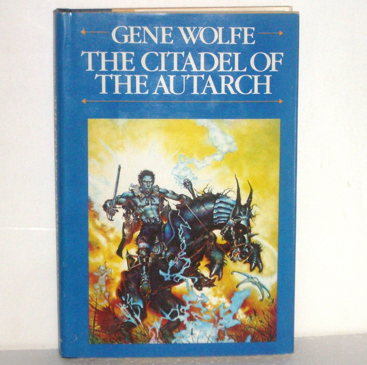 The Citadel of the Autarch Gene Wolfe Hardcover w Dust Jacket 1982 Volume 4 Book of the New Sun