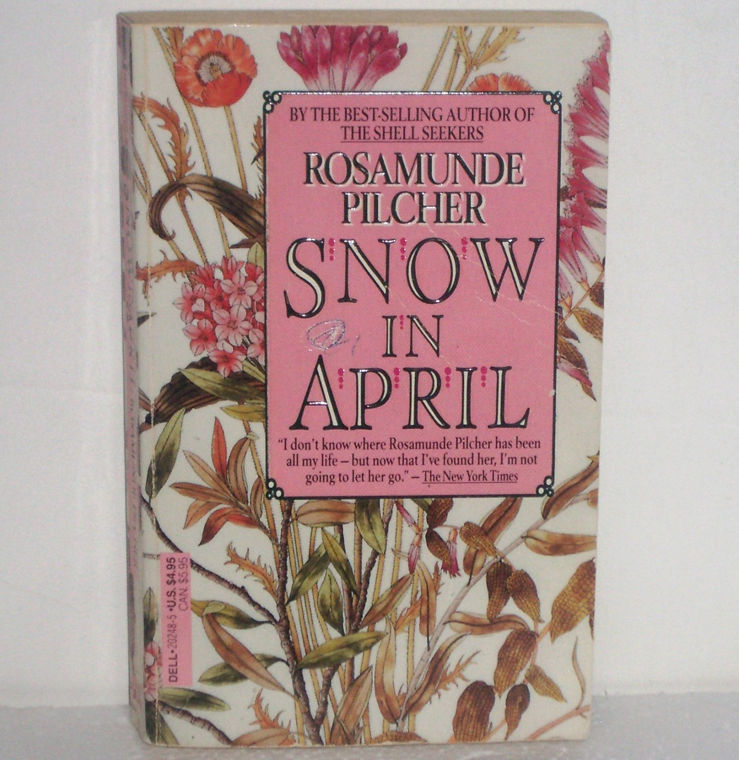 Snow in April by Rosamunde Pilcher Contemporary Romance 1989