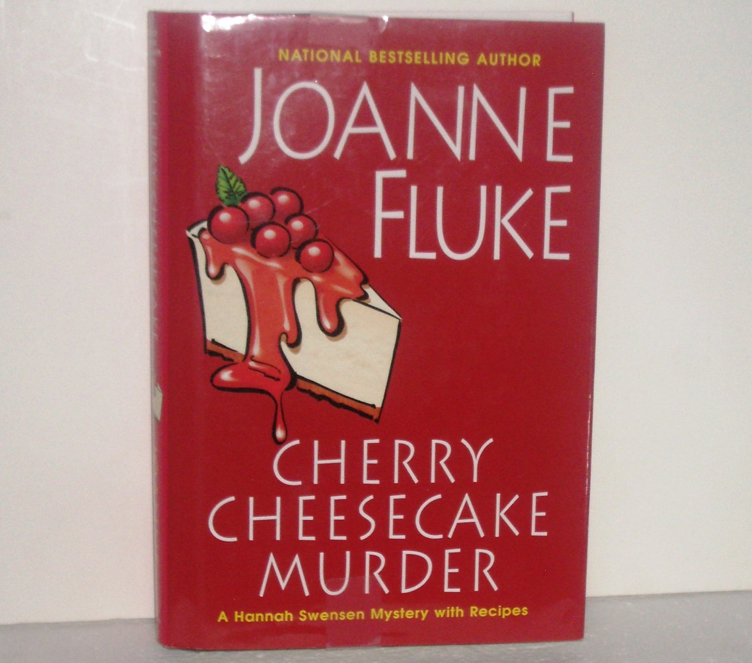 Cherry Cheesecake Murder by Joanne Fluke 2006 Hardcover with Dust Jacket Hannah Swensen Cozy Mystery