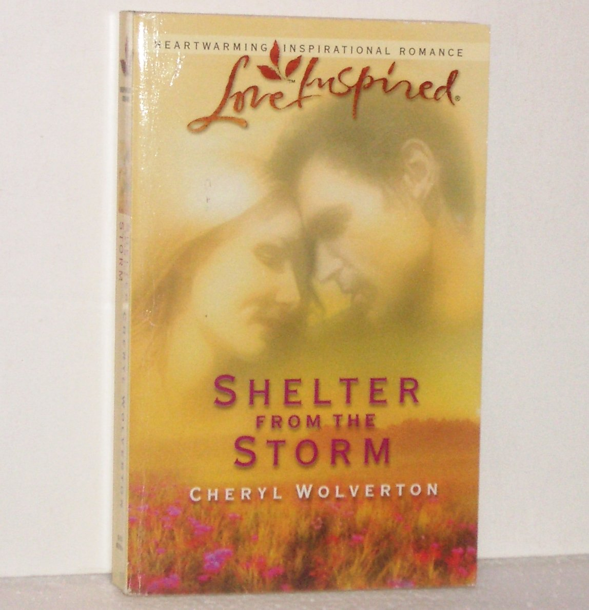 Shelter from the Storm Cheryl Wolverton Love Inspired Christian Romance 2003 Everyday Heroes Series