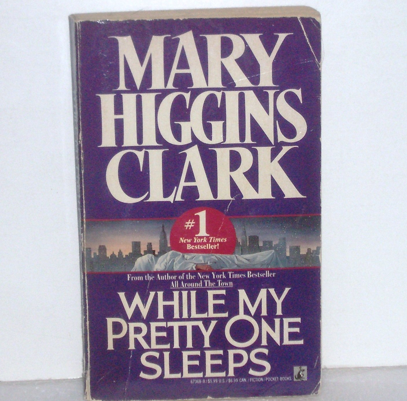 While My Pretty One Sleeps by Mary Higgins Clark Suspense Thriller 1990