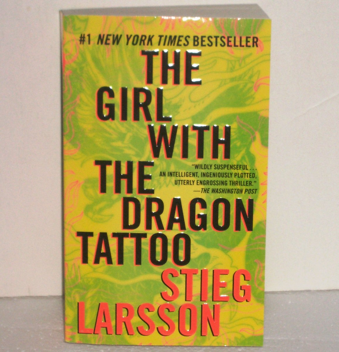 The Girl with the Dragon Tattoo by Stieg Larsson Thriller 2009 Millenium Series