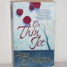 On Thin Ice by Lynn Erickson Romantic Suspense 2000