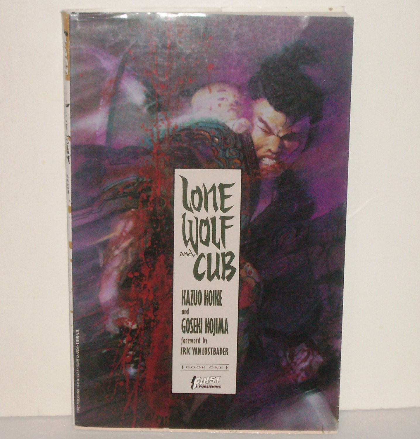 Lone Wolf and Cub by Kazuo Koike Trade Size Manga Paperback with Dust Jacket
