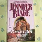 Fierce Eden by Jennifer Blake Historical Colonial Western Romance 1990