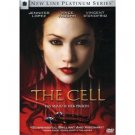 The Cell DVD New Line Platinum Series 2000 with Jennifer Lopez