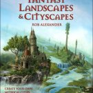Drawing and Painting Fantasy Landscapes and Cityscapes by Martin McKenna Art Book