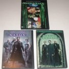The Matrix, Matrix Reloaded & Animatrix DVDs