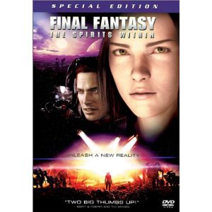 Final Fantasy : The Spirits Within DVD - Wide Screen