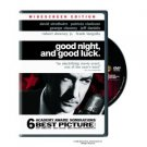 Good Night, and Good Luck DVD George Clooney David Strathairn, Robert Downey Jr.