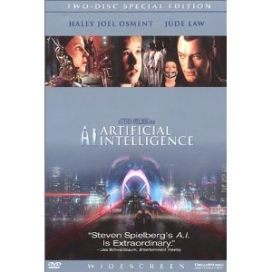 A.I.: Artificial Intelligence DVD Jude Law, William Hurt Wide Screen 2 Disc Set