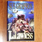 L is for Lawless by SUE GRAFTON Hardcover, Dust Jacket 1995 First Edition