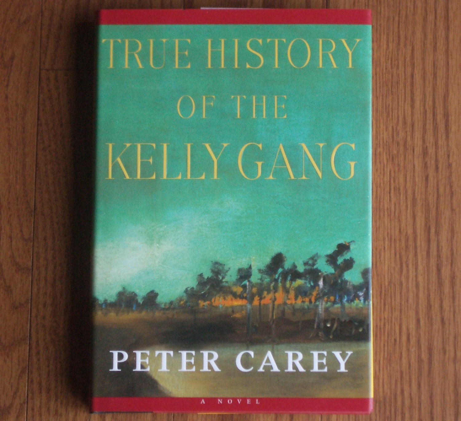 True History of the Kelly Gang by Peter Carey 2001 Hardcover, Dust Jacket 1st Edition