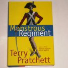 Monstrous Regiment by Terry Pratchett Hardcover with Dust Jacket 1st Edition Discworld Series