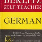 Berlitz Self-Teacher Germany by Berlitz 1985 Hardcover
