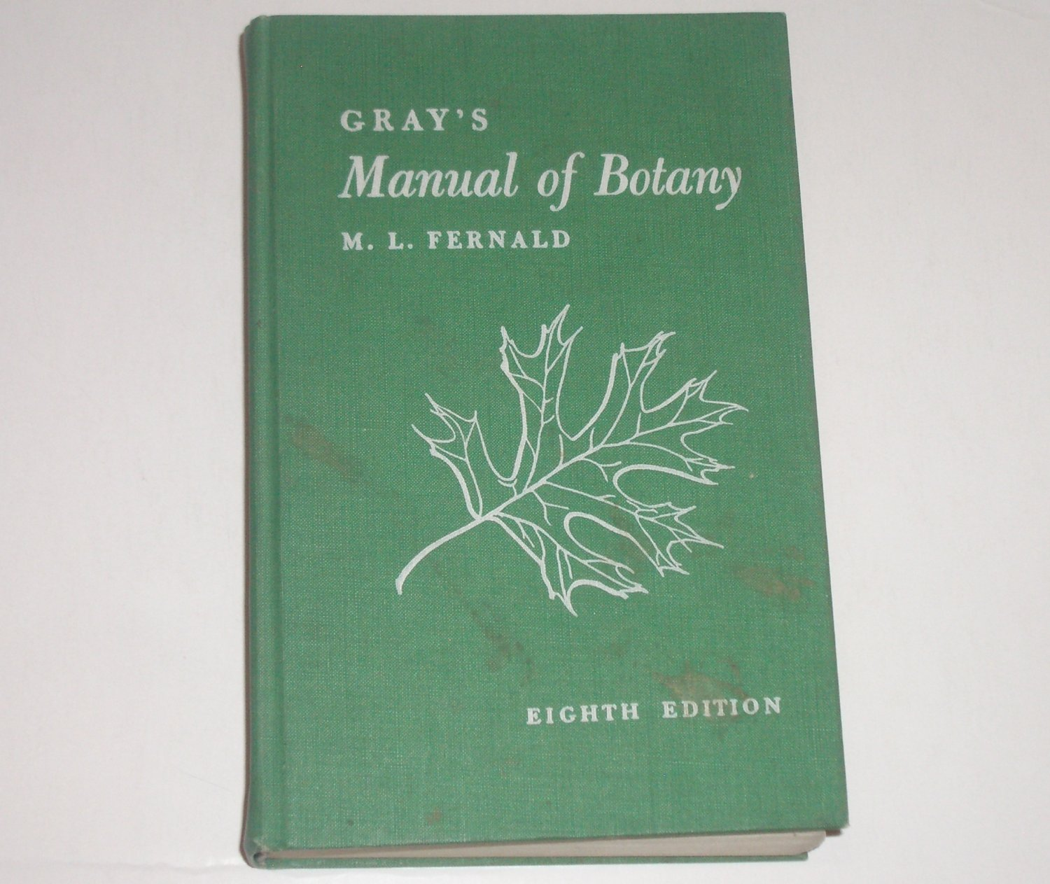 Gray's Manual of Botany by M.L. Fernald 1950 Hardcover 8th Edition