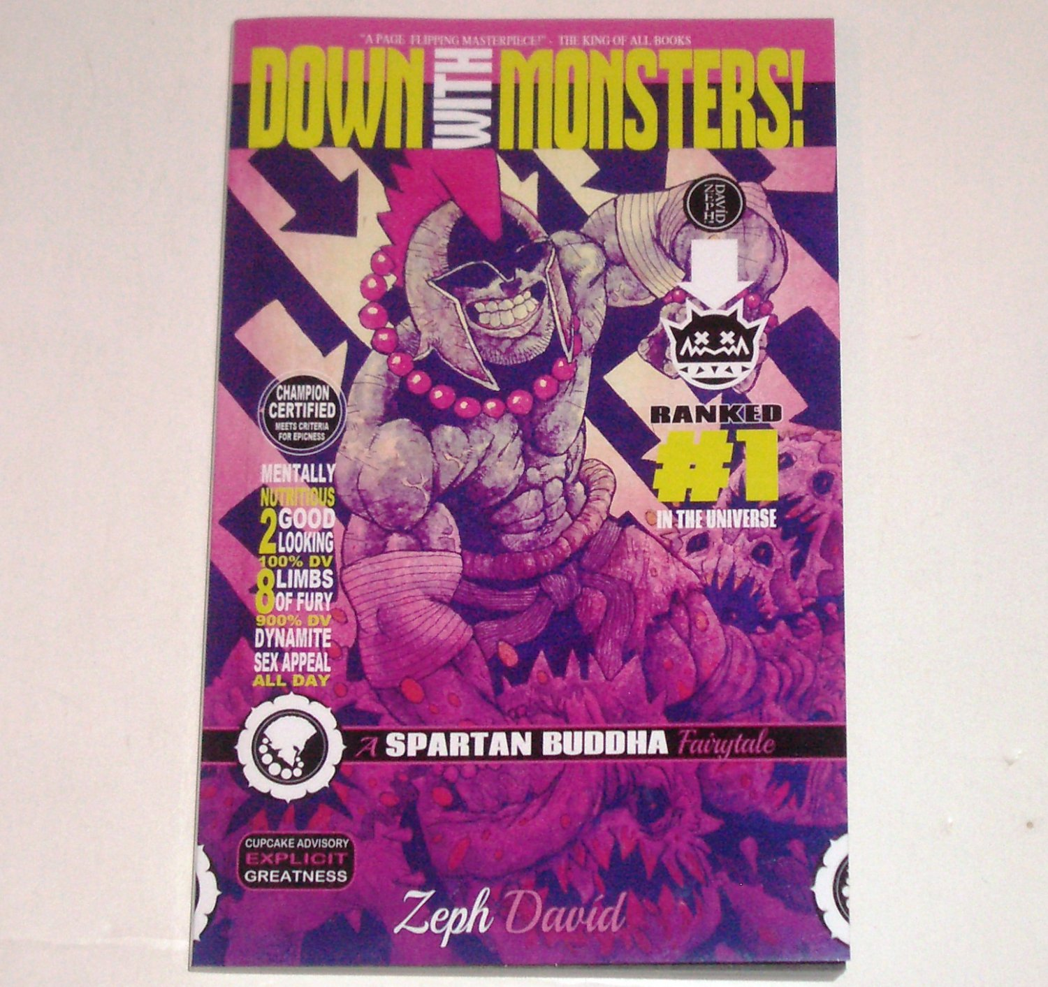 Down With Monsters: A Spartan Buddha Fairytale 2013 Graphic Novel Trade Size