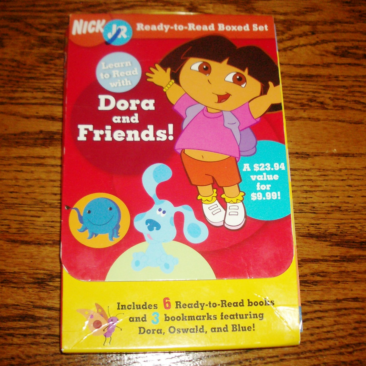 Learn to Read with Dora and Friends! Nick Jr. Ready-to-Read Boxed Set
