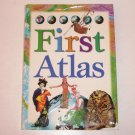 First Atlas 1998 Hardcover with Dust Jacket ~ Childrens Book