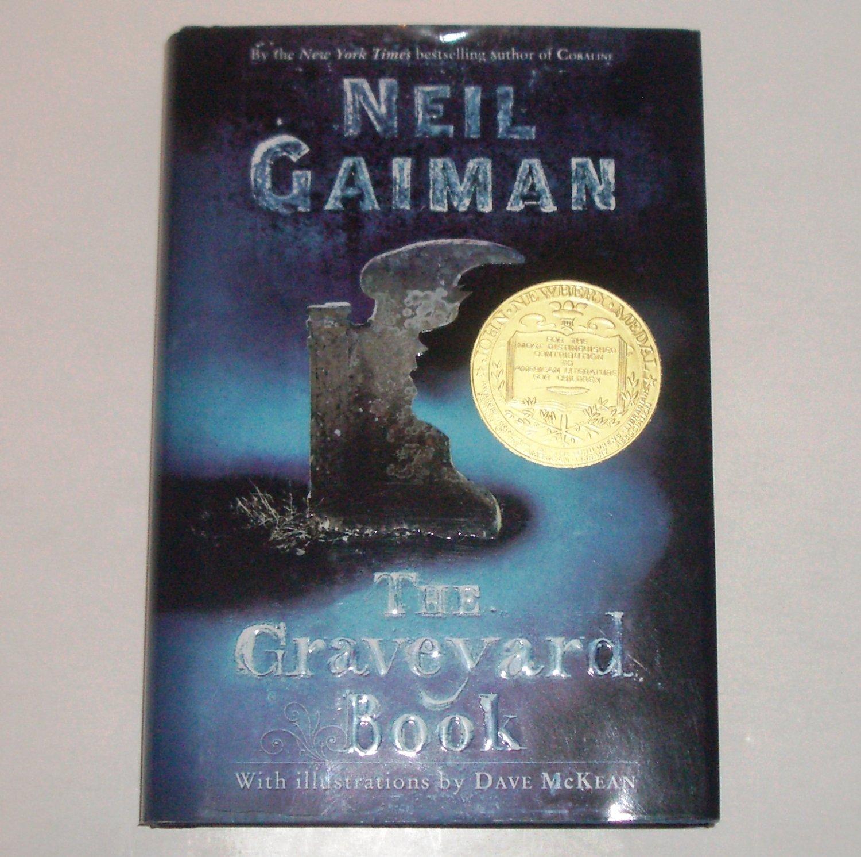 The Graveyard Book - Neil Gaiman - US 1st Edition - Hardcover w/DJ 2008