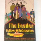 The Beatles YELLOW SUBMARINE Book 1968 Full Color Illustrations