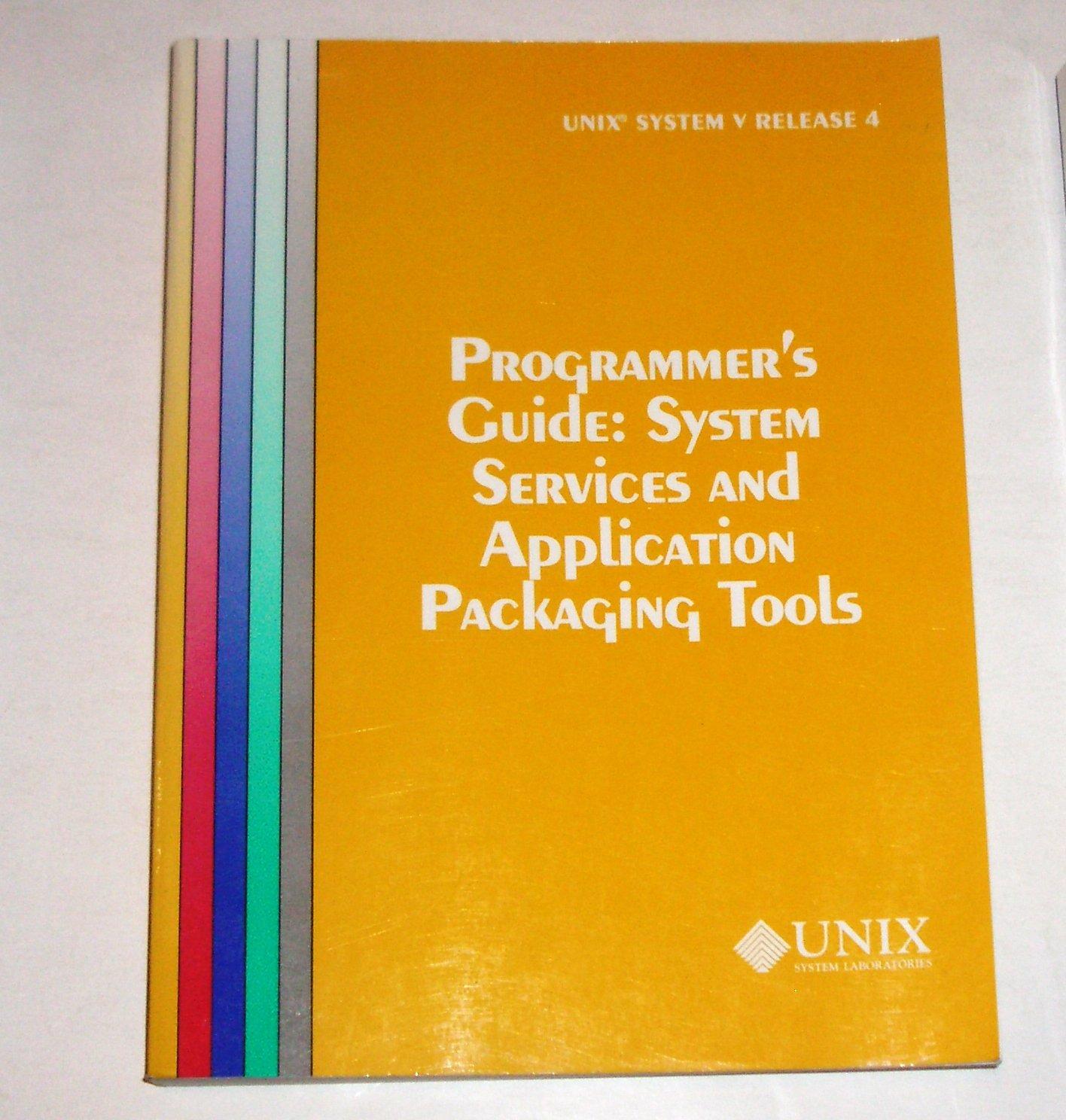 UNIX System V Release for Programmer's Guide System Service