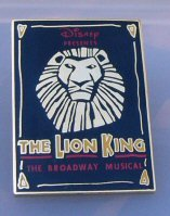 The Lion King Broadway Musical Pin disney