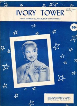 Ivory Tower Cathy Carr Sheet Music