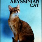 Abyssinian kitten cat book Faler Nutrition,grooming show standards