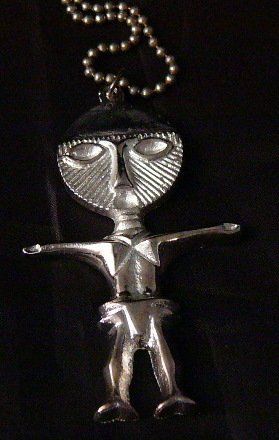 Alien African Talisman Necklace  fertility Asante