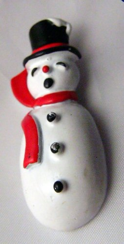 Brrrrrrr it's  Cold - Gerrys Snowman enamel pin Christmas