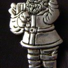 You better be good Sterling Silver Santa Claus ST. Nick  Pin Mexico