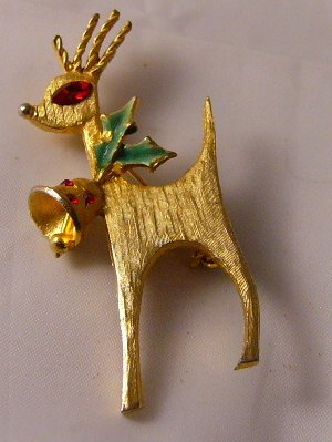 Retro Mylu Classic styled reindeer bell holly