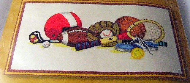 Garrish Sunset Crewel Kit Sports football soccer baseball