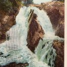 Postcard PC Wilmington High Falls Adirondacks 1918