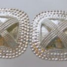 Mimi di Square 1972 Geometric Belt Buckle Vintage