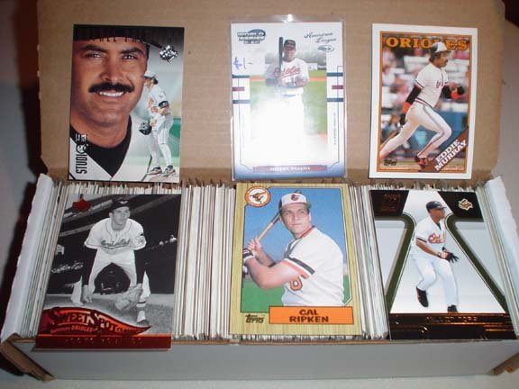 Baltimore ORIOLES Baseball Card Collection ***FREE SHIPPING***