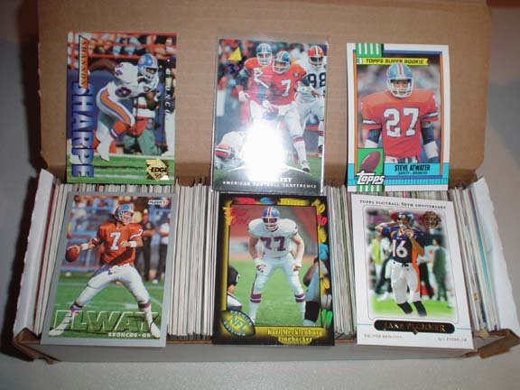 Collection of Denver BRONCOS Football Cards ***FREE SHIPPING***