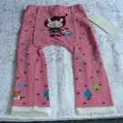 NEW BABY UNISEX LONG PANTS EMBROIDERY SIZE 12-24 MONTHS WITH TAG