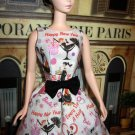 Silkstone Barbie Dress Every Day's a Holiday 2014 Convention themed Happy New Year