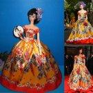 Pre-order  Dolce & Gabbana Zedaya Met Gala parrot ball gown for Classic Silkstone Barbie