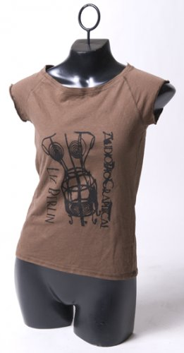 "Brown ""AudioBioGraphical"" Tee"