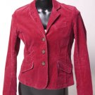 Hot Pink Courdoroy Blazer